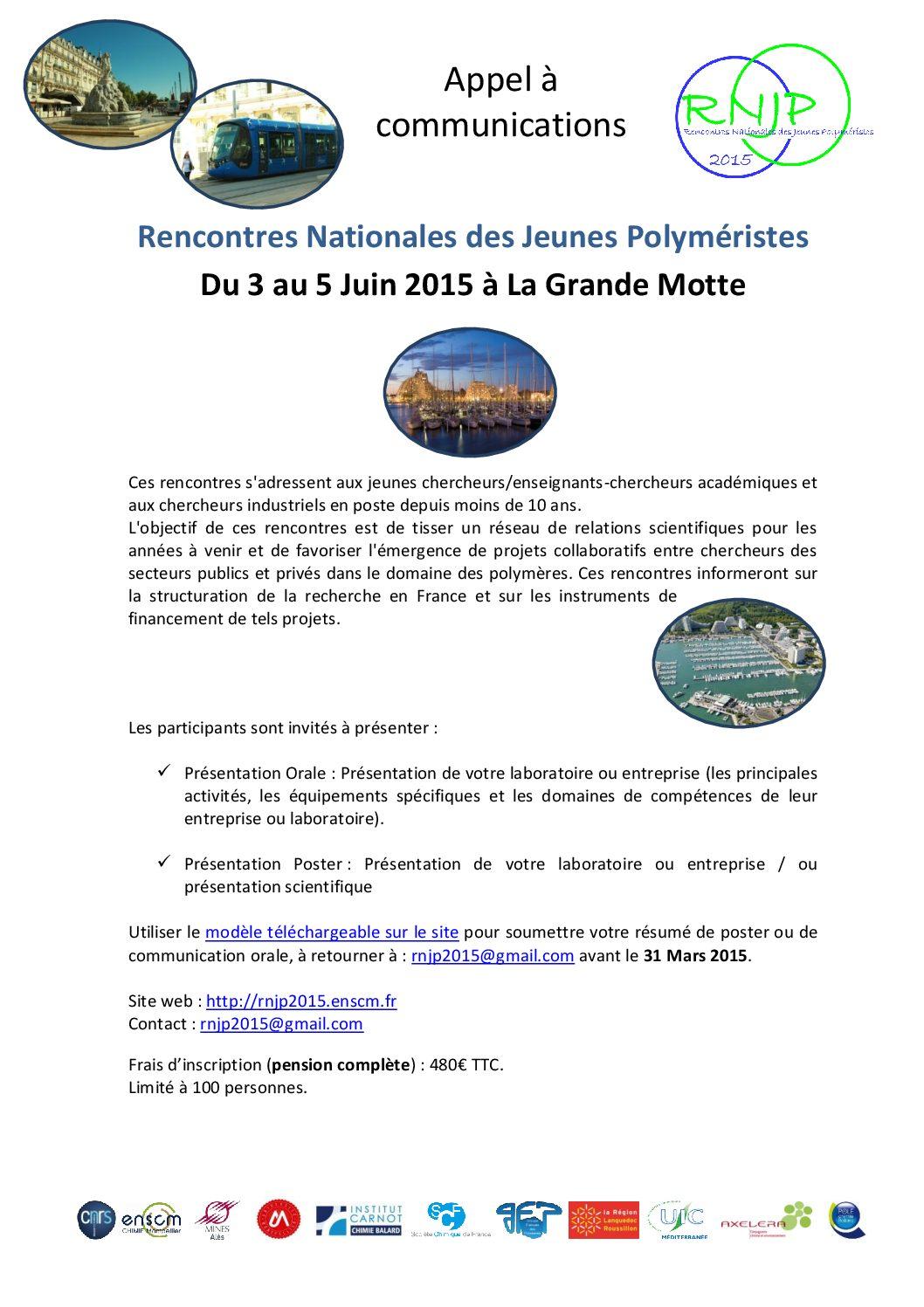 Appel A Communications RNJP2015_LaGrandeMotte_FlyerN°3_Page_1